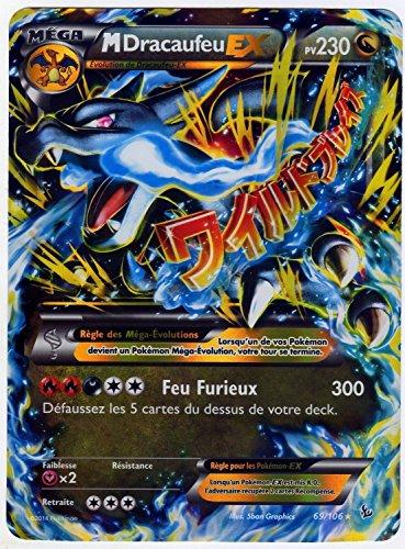 carte Pokémon 69/106 Mega Dracaufeu EX JUMBO 230 PV - FULL ART Promo