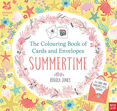National Trust: The Colouring Book of Cards and Envelopes - Summertime (Colouring Books of Cards and Envelopes) por Rebecca Jones