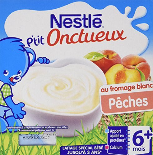 nestle-bebe-ptit-onctueux-au-fromage-blanc-peche-laitage-des-6-mois-4-x-100g-lot-de-6