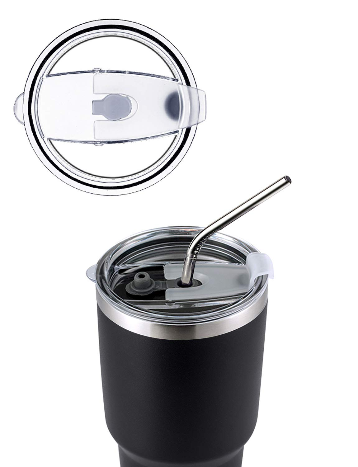 DYNAMIC-SE-30oz-Tumbler-Double-Wall-Stainless-Steel-Vacuum-Insulated-Travel-Mug-with-Splash-Proof-Lid-Metal-Straw-and-Brush
