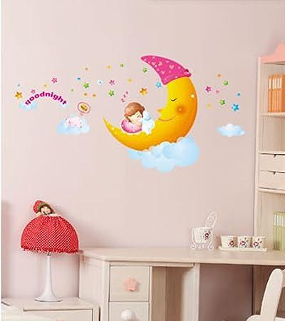 Stickers per pareti cameretta bambini stickers murali - Decorazioni pareti bambini ...