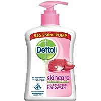 Dettol Skincare Germ Protection Handwash Liquid Soap Pump, 250ml