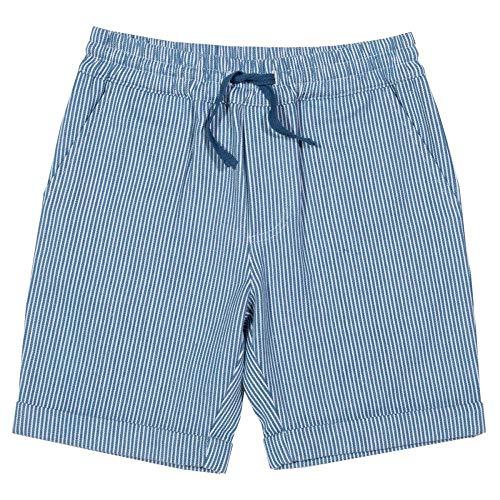 Bt-kinder-shorts (BT-Kite Kinder Shorts aus Reiner Bio-Baumwolle Stripes Gr. 128)