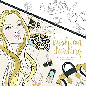 Kaisercraft - Libro para colorear Fashion Darling (CL512)