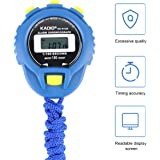 Waterproof Digital LCD Stopwatch Sports Counter Chronograph Timer Odometer