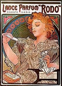Alphonse Maria Mucha Lance Parfum Rodo A4 10x8 Photo Print Poster