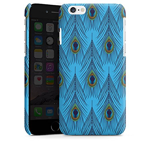 Apple iPhone 5 Housse étui coque protection Plume d'autruche Motif Motif Cas Premium brillant