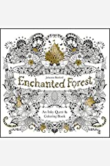 Enchanted Forest: An Inky Quest and Colouring Book: An Inky Quest & Colouring Book (King08) Paperback