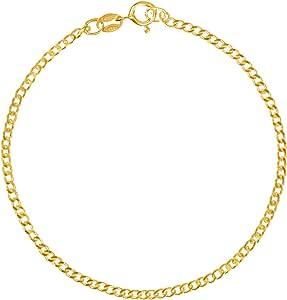 bracciale donna modabilé placcato oro (1,85 mm) Bracciale in argento BONAFIDE