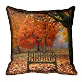meSleep Nature 60-139 Digitally Printed Cushion Cover (16x16) best price on Amazon @ Rs. 175