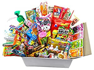 stock en france lot de 50 x snacks bonbon japonais import japon box pas cher kit melange. Black Bedroom Furniture Sets. Home Design Ideas