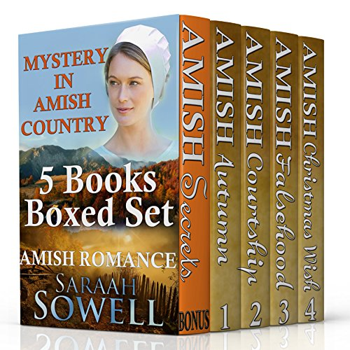 Amish Romance Mystery In Amish Country Series 4 Complete Books In One Boxed Set Inspirational Amish Romance