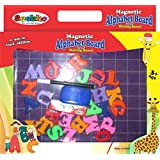 [Sponsored]Smartcraft Magnetic Alphabet Board Cum Writing Board , Learning And Education Board + Alphabet Letter Magnets & More
