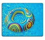 MSD Naturkautschuk Mousepad Bild-ID: 32656548Colorful Pool Float in blau Schwimmen Becken 3594