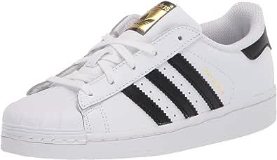 adidas Originals Superstar, Basket Mixte Enfant, Noyau Blanc Noir ...