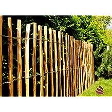 valla de listones de valla de madera con puntas seguras para ser utilizada como valla de jardn para parcelas o como protector de