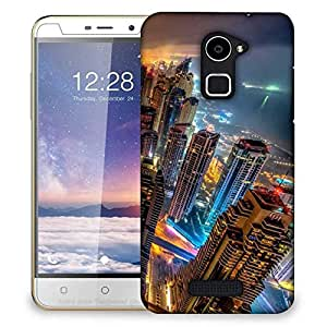 Snoogg Night View Designer Protective Phone Back Case Cover For Coolpad Note 3 Lite