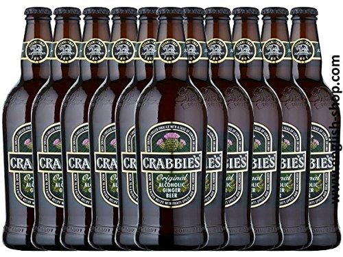 Crabbies Ginger Beer (12x500ml Flasche)