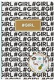 Girl 100735790 Agenda 2018-2019 1 Jour par page 12 x 17 cm