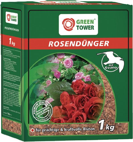 GREEN TOWER ENGRAIS POUR ROSES CARTON DE 1 KG
