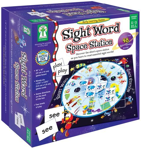 Sight Word Space Station: Uncover the alien???s space station as you learn to read essential sight words! by Sherrill B. Flora M.S. (2007-09-03) -