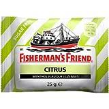 Caramelle Fisherman's Agrumi Senza Zuccheri - 10 buste da 25g - La forza balsamica del Mentolo e la nota acidula degli…