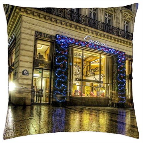 cartier-in-paris-at-christmas-hdr-throw-pillow-cover-case-18