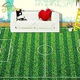 Leegt 3D Tapete Wallpaper Mural Benutzerdefinierte Wandbild Grünen Fußballplatz Liegewiese Lvyinchang Wohnzimmer Schlafzimmer Kinderzimmer 3D Stock Wandbild Tapeten 350cmX300cm