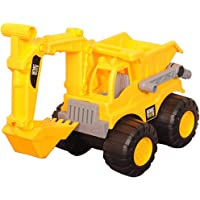 Alamara Design House 1 Pcs JCB Dig & Dump Construction Toy Truck Toy for Kids Plastic Friction Powered Kid Engineering…