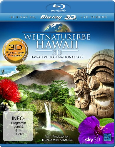 Weltnaturerbe Hawaii - Hawaii Vulkan-Nationalpark [3D Blu-ray] [Collector's Edition]