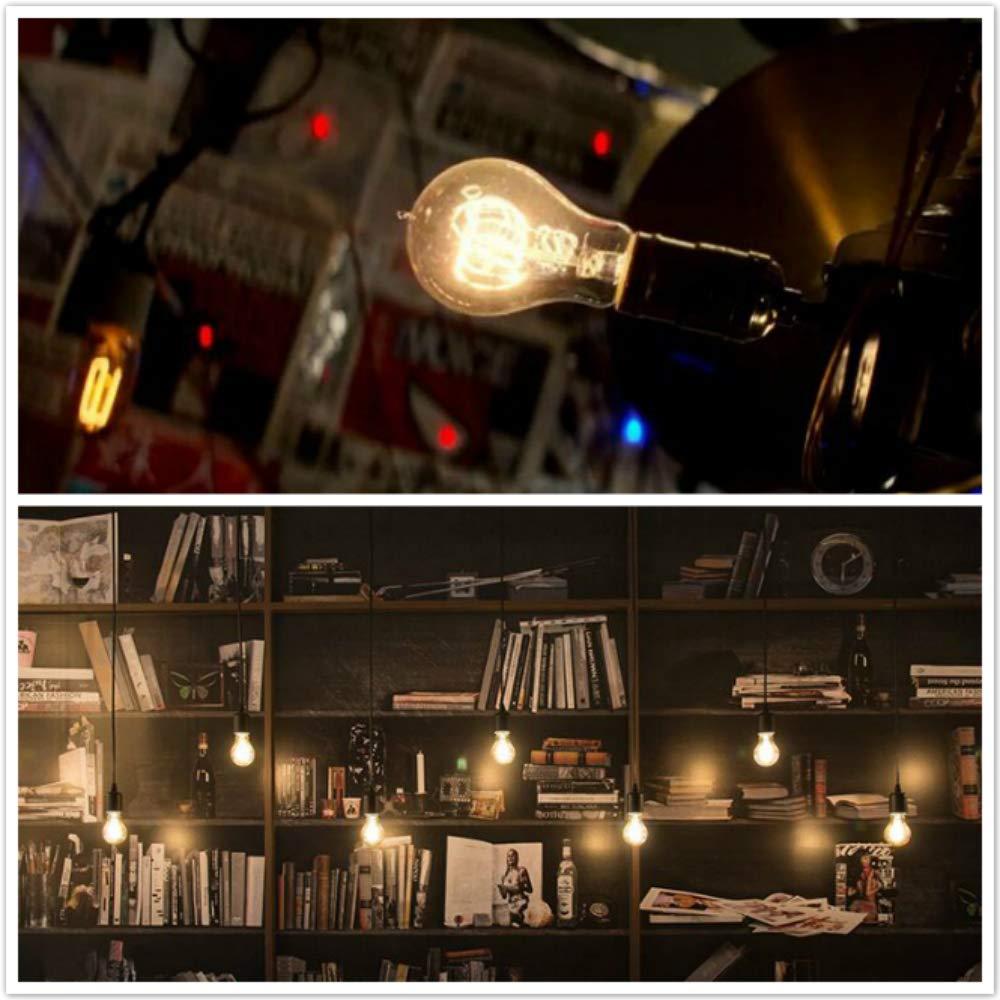 Steampunk industrial Retro Base L/ámparas de escritorio E27 JINYU Vintage American Village Luz de escritorio Mesa creativa Accesorio de iluminaci/ón Hierro Acero Pipa de agua Mesa Luces nocturnas