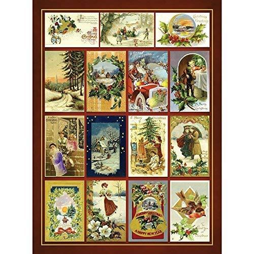 Spa-quilt (Bits and Pieces 1000 Stück Puzzle für Erwachsene Weihnachtsgruß-Quilt 1000 Pc Frohe Feiertage Jigsaw)