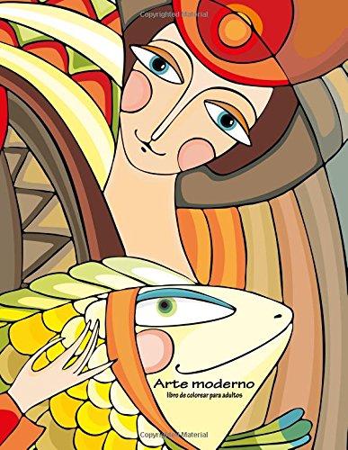 Arte moderno libro de colorear para adultos 1: Volume 1
