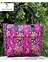 Hippie Tapestry Handmade Boho Hobo Tote Bags Hand Shoulder Bags Cotton Indian Mandala Designer Fashionable Bags...