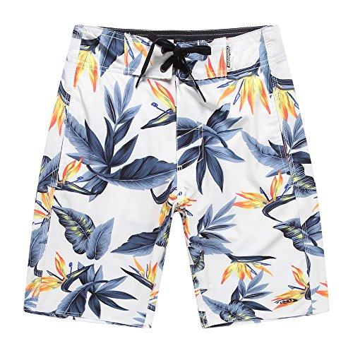 Hombres-Ropa-de-playa-Pantalones-cortos-con-bolsillo-en-Beige-Pjaro-del-Paraso-42