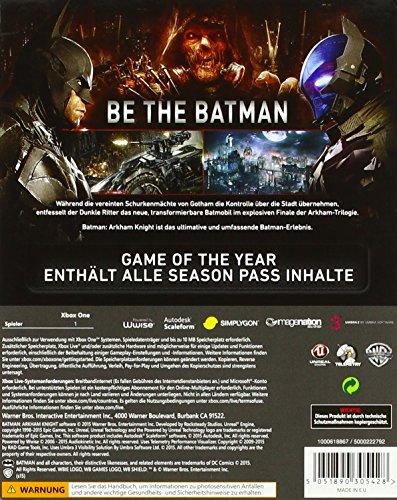 Batman: Arkham Knight GOTY Game of the Year Edition (Xbox One) 61TVDhn9csL