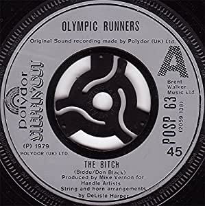 "BITCH 7 INCH (7"" VINYL 45) UK POLYDOR 1979"