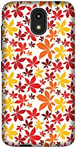 The Racoon Lean Autumn Fall hard plastic printed back case / cover for HTC Desire 526G Plus