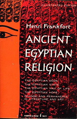Ancient Egyptian Religion (Cloister Library) por Henri Frankfort