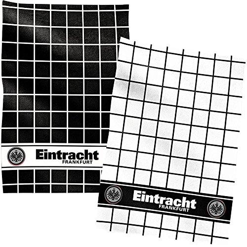 Eintracht Frankfurt Kissen Black Eagle In 38 X 38 Cm Flaggen