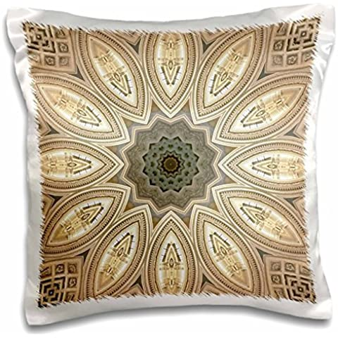 Architecture Nature Kaleidoscope - 16x16 inch Pillow Case
