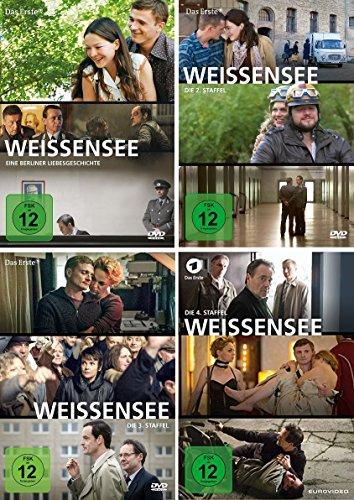 Produktbild Weissensee - Staffel 1+2+3+4 im Set - Deutsche Originalware [8 DVDs]