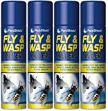 4 X 300ml Fly And Wasp Killer Spray - Best Reviews Guide