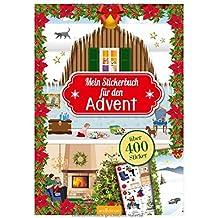 Mein Stickerbuch für den Advent: 24 x Stickerspaß
