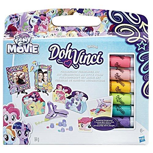 Hasbro DohVinci C0916EU4 - My Little Pony Freundschaft ist Magie Set, Bastelspielzeug