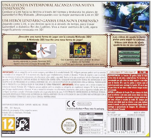 Imagen principal de Nintendo 3DS Zelda Ocarina of Time