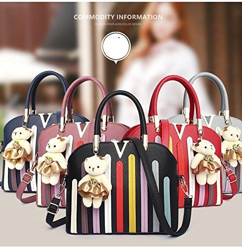 Gli allievi dello zaino delle donne delle borse delle donne brandnew di modo modifica la vendita poco costosa di cuoio di alta qualità del pacchetto di svago (DFMP14) F
