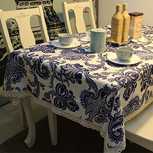 SUUNHH-Premium linen tablecloth cotton and linen table