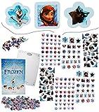 Unbekannt 500 tlg. XXL Set: Sticker & Malblock -  Disney die Eiskönigin - Frozen  - 3-..