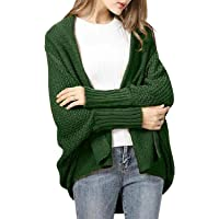 Tuopuda Cardigan Donna Lungo in Maglia Maniche Lunghe Oversized Maglione Giacca Inverno Autunno Cappotto Allentato…